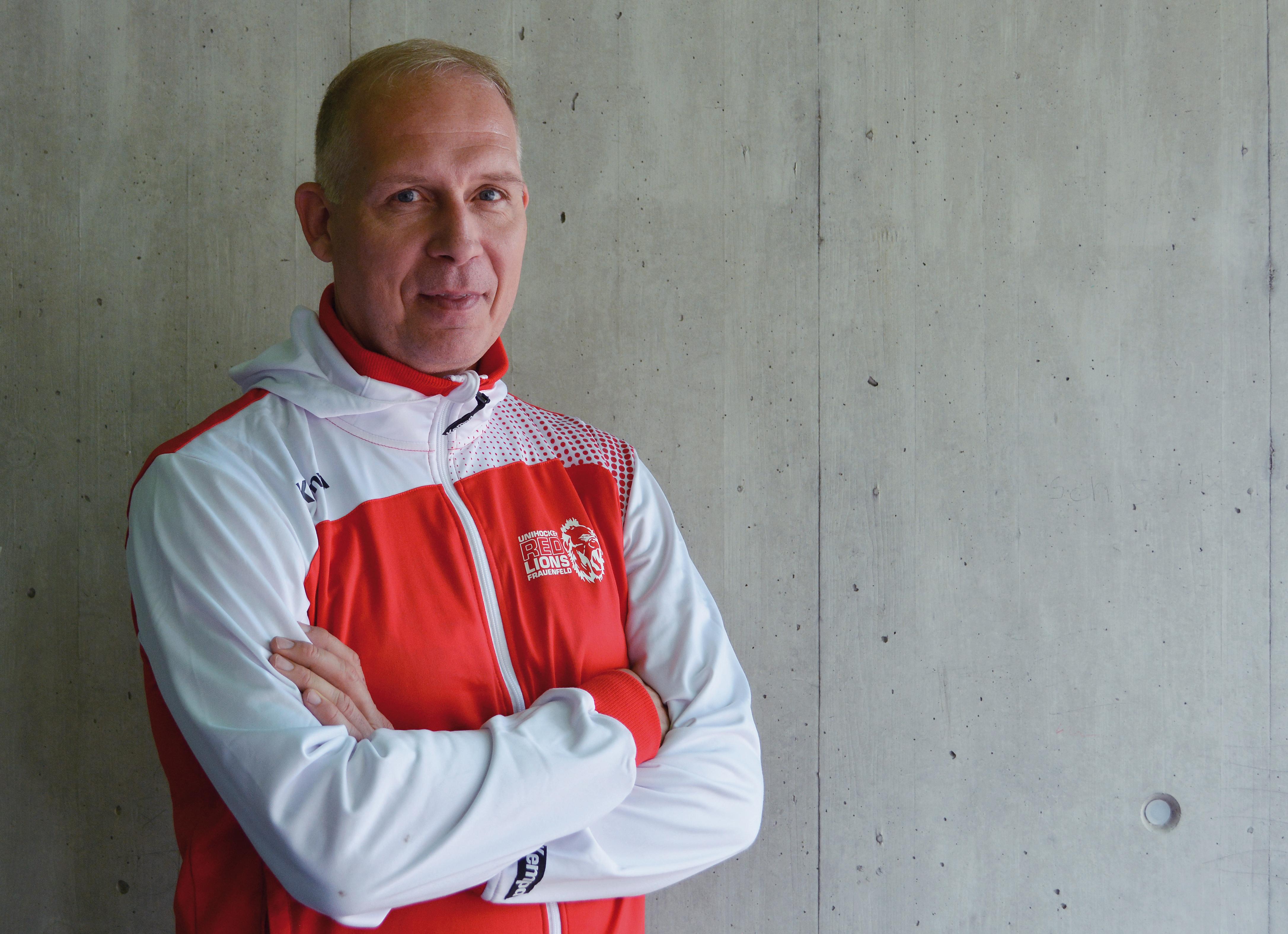 Patrick Simon kümmert sich als Sportchef um die Förderung der U17- und U21-Juniorinnen
