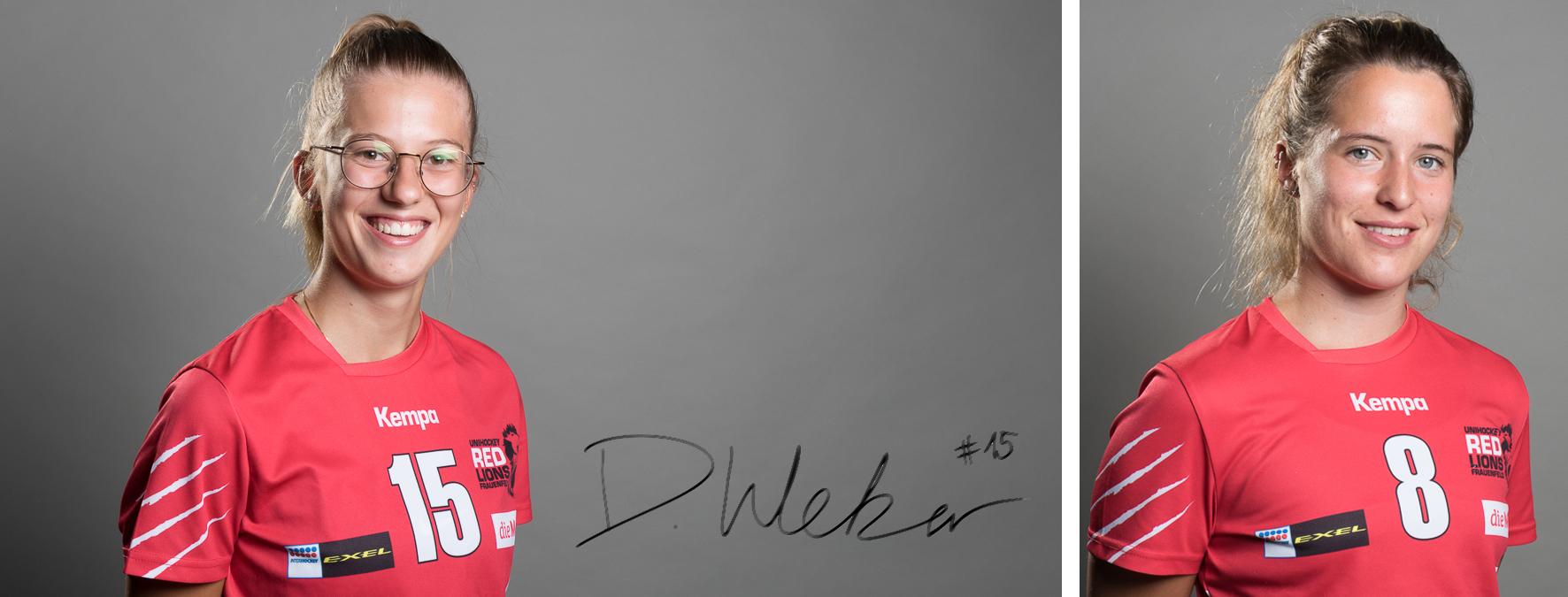 Damaris Weber hat sich in der vergangenen Saison zur Leaderin entwickelt. Letzte Saison kehrte Michèle Diethelm wieder zu den Frauenfelderinnen zurück.