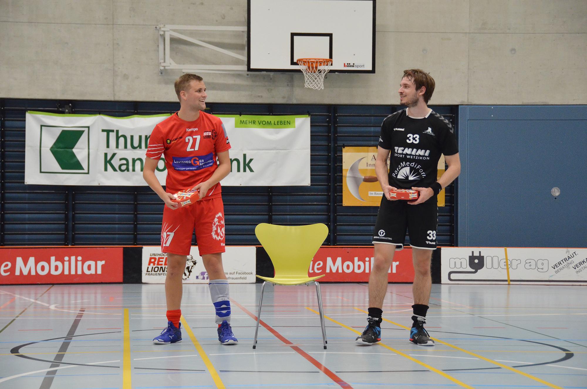 Als Best Player ausgezeichnet wurden Siro Pfister (links) und Pascal Luginbühl.