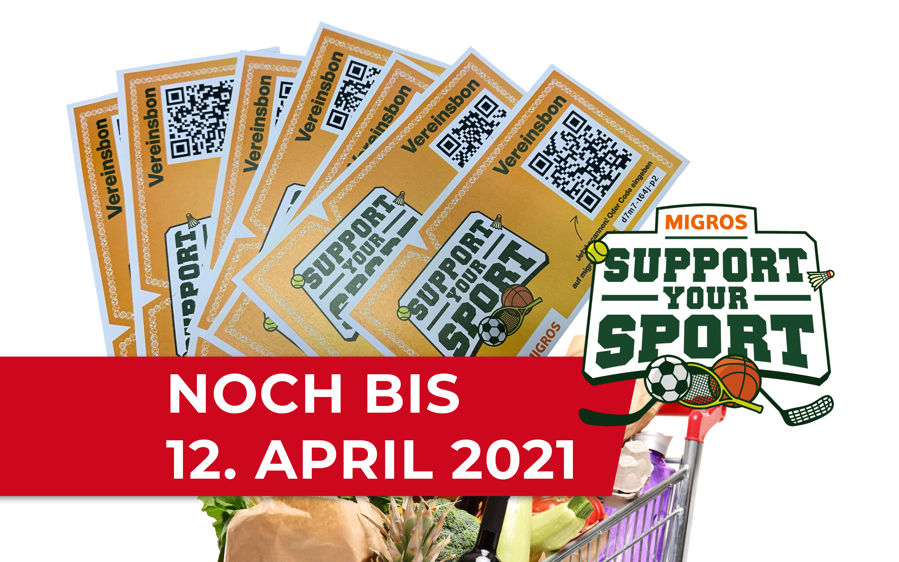 6, 5, 4 , 3, 2, 1 … Endspurt bei Support Your Sport