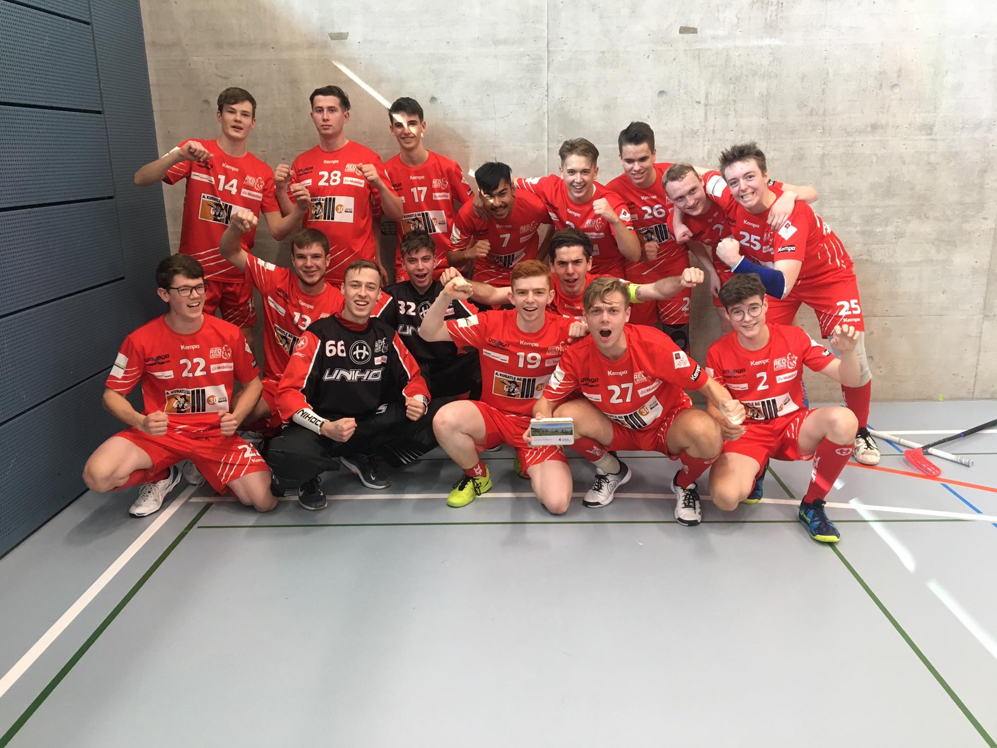 4. Spiel der Saison in der Kanti gegen Hurricans Glarnerland